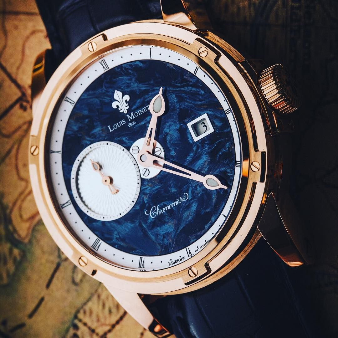 51944ce8e2c Louis Moinet have opened the way to stone   meteorite dials