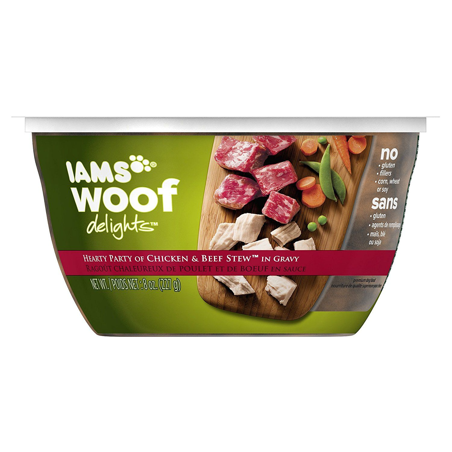 IAMS WOOF DELIGHTS Wet Dog Food >>> Read more reviews of