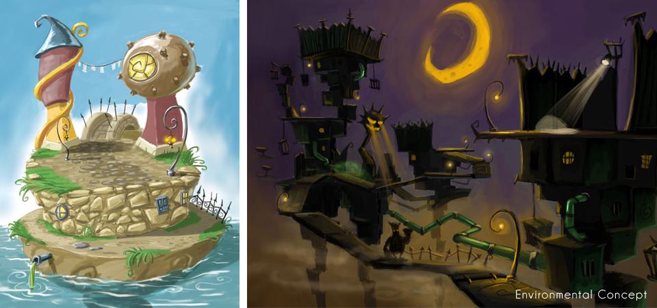 Koregang Environment4 Environments Video game