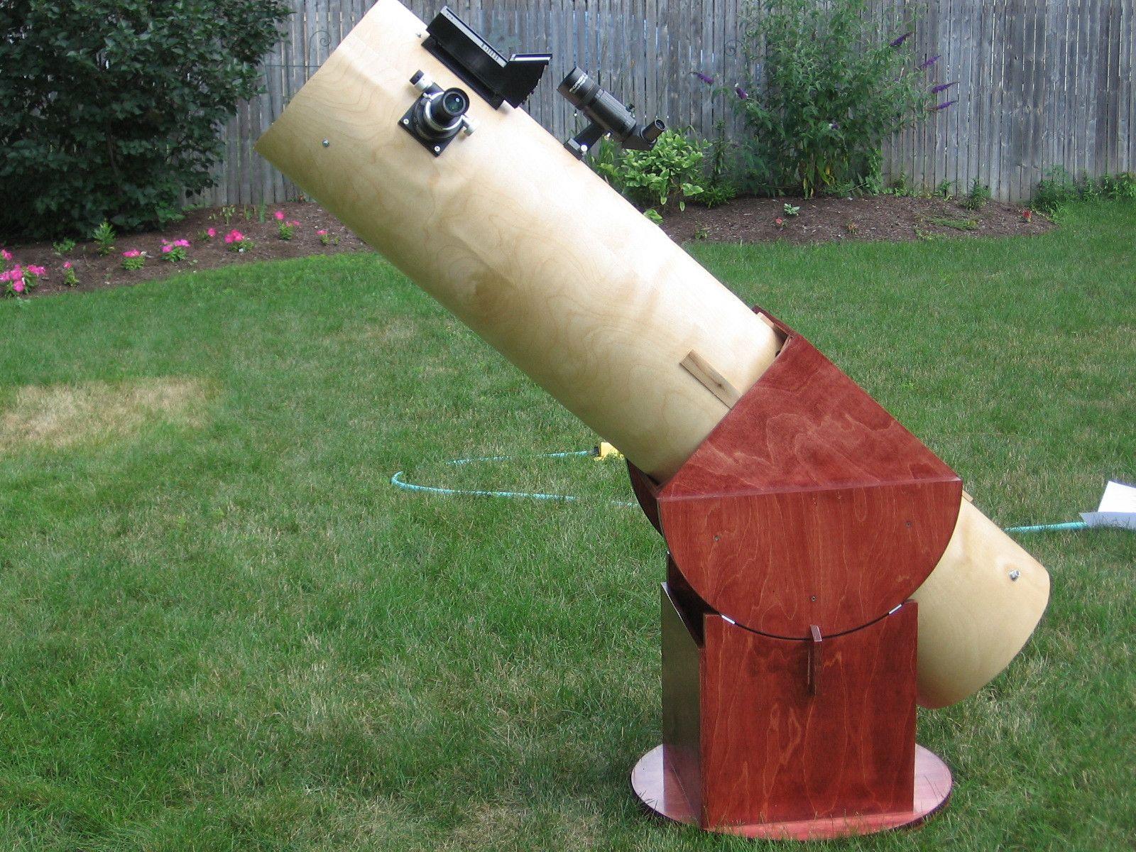 Homemade 12 5 Inch Dobsonian Telescope Diy Telescope Diy Telescope