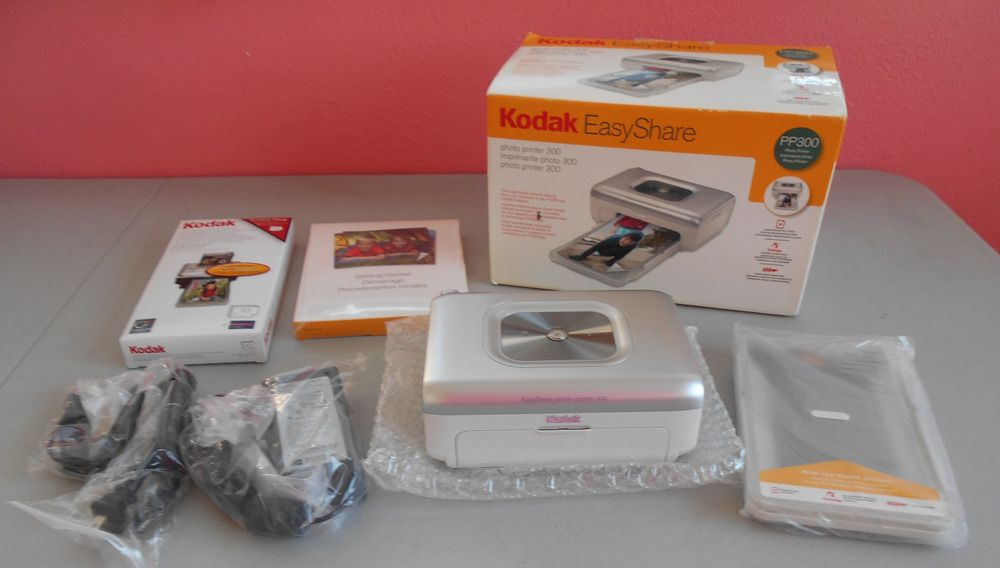 Kodak Easyshare Photo Printer 300 Cameras And Gear Photo Printer