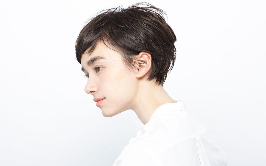 ショートヘアスタイル104 表参道 美容室 ドゥーブル Double ヘア