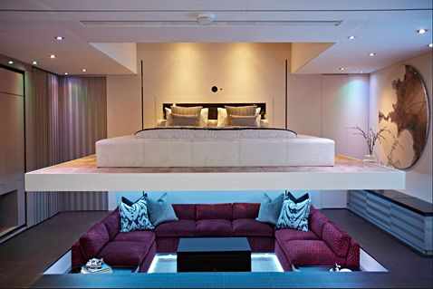 Yo Home The Convertible Apartment Sunken Living Room Bed Design Small Apartment Design