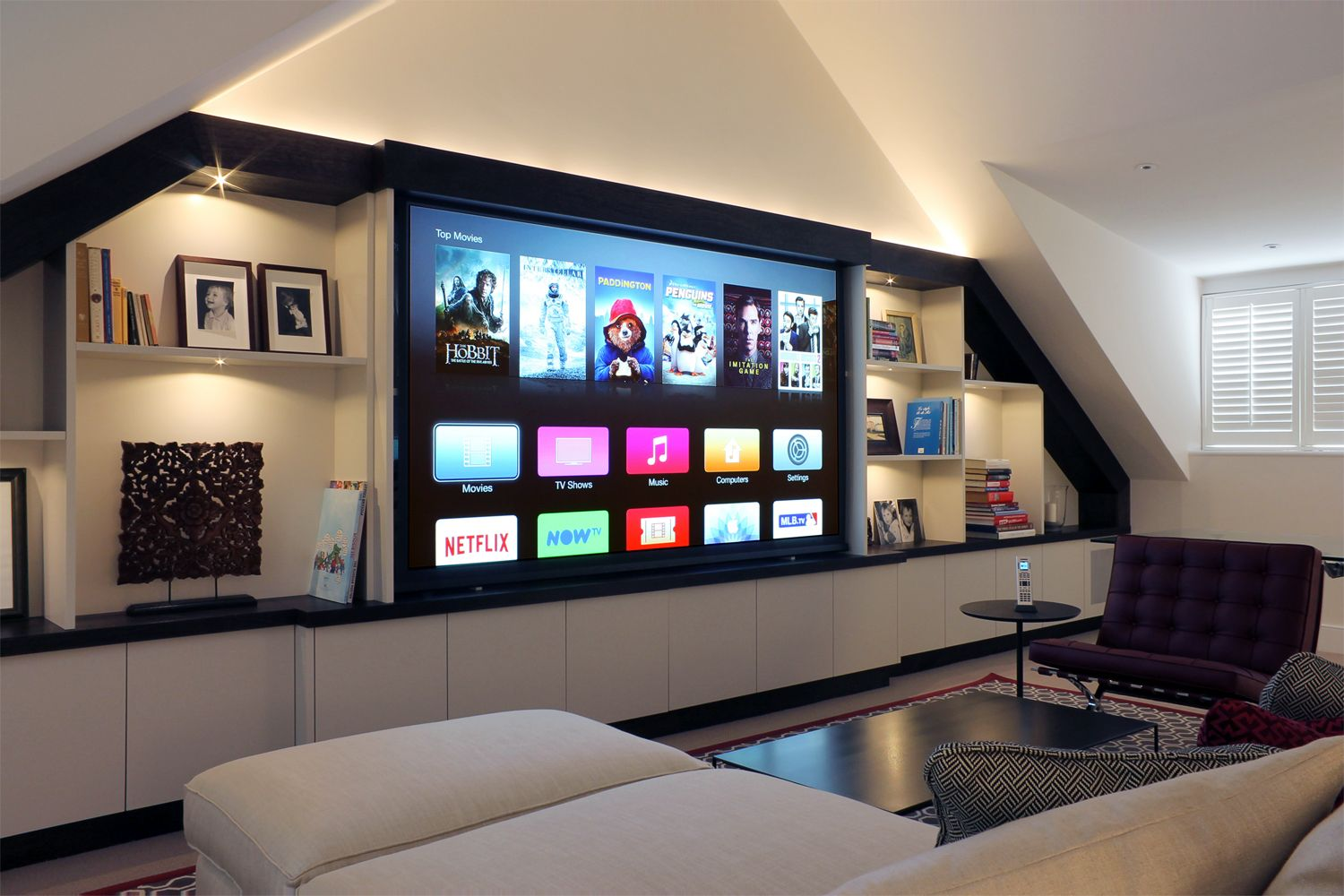 CEDIA Awards 2015 Winner In Best Media Room Under 10000 HH Audio Visual