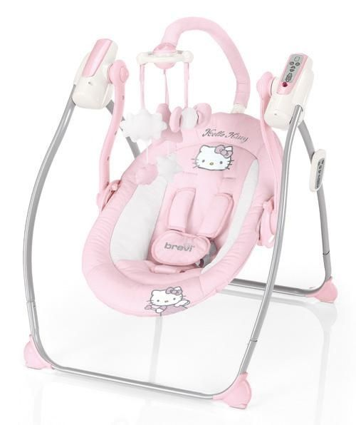 Hello Kitty Miou Baby Swing Eeekkkkk Hello Kitty