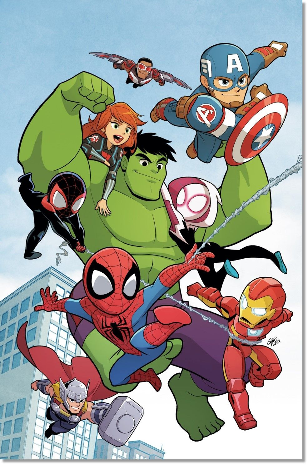 Marvel Renames Its Super Hero Adventures Comics To Make Each A 1 Chibi Marvel Marvel Superheroes Marvel Kids