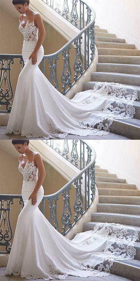 22 Mermaid Wedding Dresses To Excite You