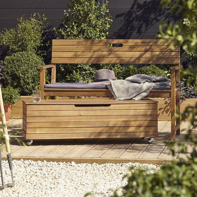 Je Veux Un Banc Pour Mon Jardin Rangement Jardin Bancs De