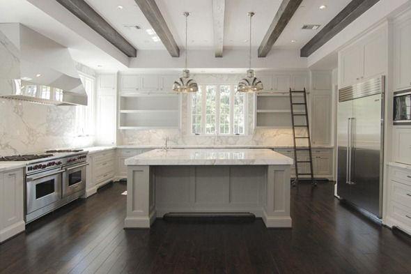 kitchen home Pinterest Dark hardwood flooring, Dark hardwood