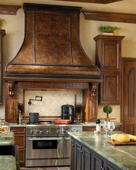 40 kitchen vent range hood designs and ideas - Kitchen Range Hood Design Ideas