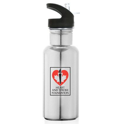 SSB14  -  Stainless steel water bottles  http://www.creatchmanpromo.ca/