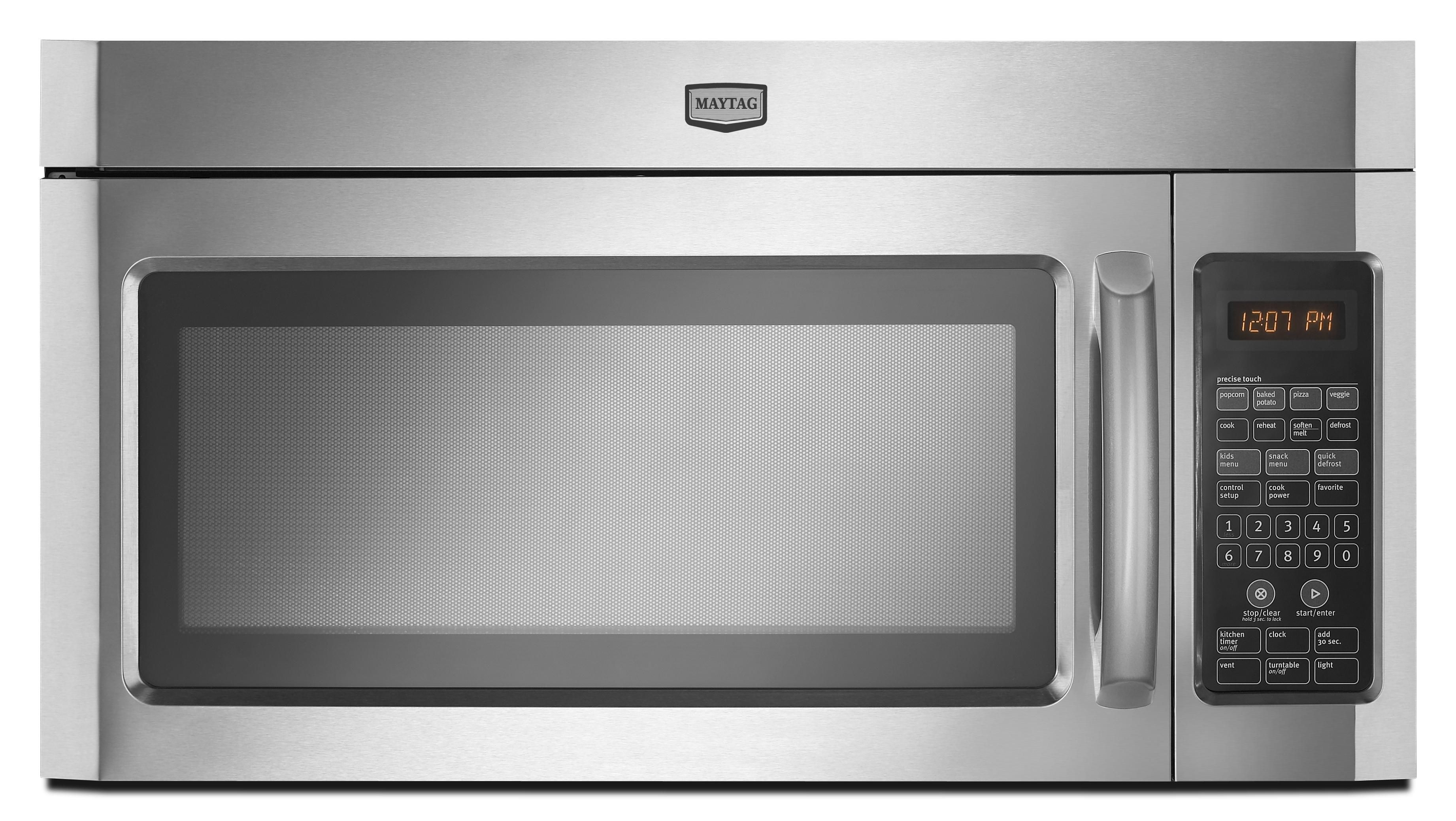 Microwaves 2 0 Cu Ft Over The Range Microwave By Maytag