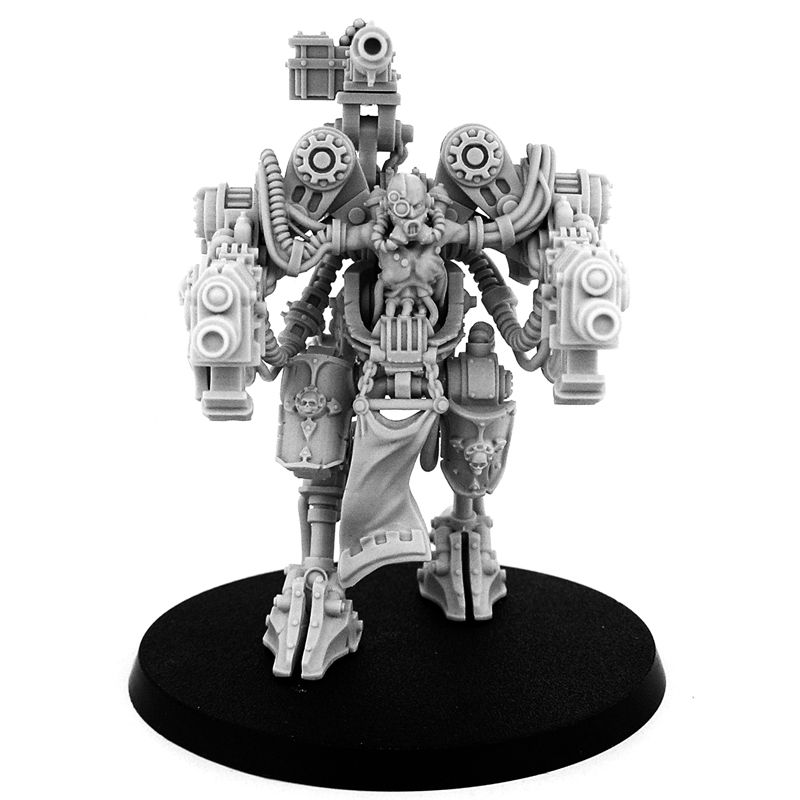 Mechanic adept castellan-type walker (male) | mechanicum | Type
