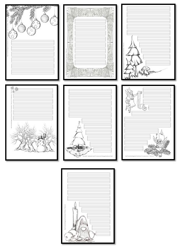 grundschulimpulse weihnachtliche schmuckrahmen. Black Bedroom Furniture Sets. Home Design Ideas