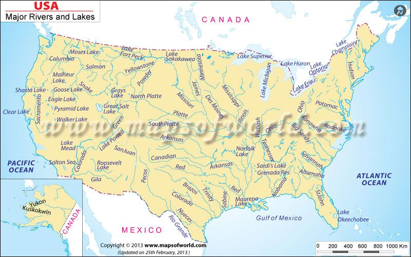 USA River Map Geography MFW ECC Pinterest Rivers, Geography - copy world map africa continent