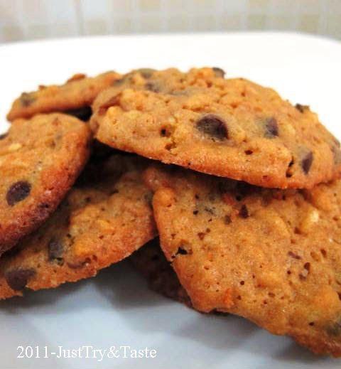 Resep Rice Crispy Chocolate Chips Cookies Kue Coklat Chip Makanan Resep Masakan