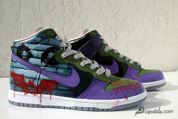 516a73bb0101 Custom Joker Shoes (Hi Tops