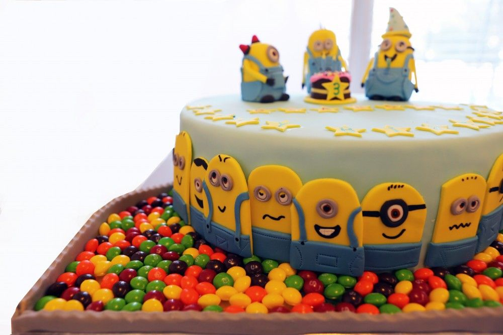 Minion Rush Cake My Cakes Pinterest Cake