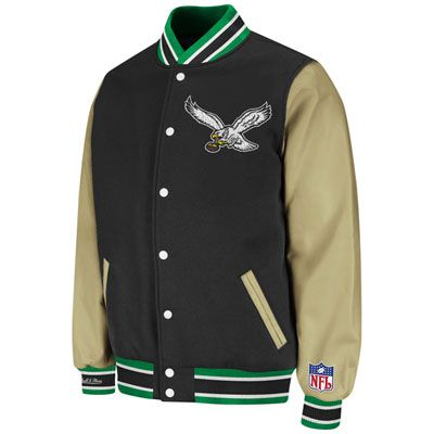 d439dd38ee9 Classic Style  Eagles Throwback Wool and Leather Varsity Jacket... I WANT I  WANT I WANT