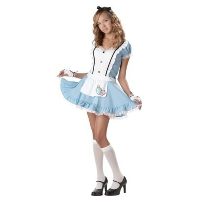 teen-alice-in-wonderland-costume 2012 halloween costume ideas 2012 - halloween teen costume ideas