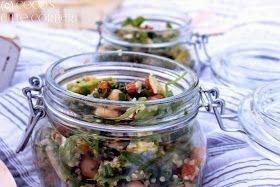 Coco's Cute Corner: Quinoa Salat mit Aprikose und Rucola - Picknick Themenwoche