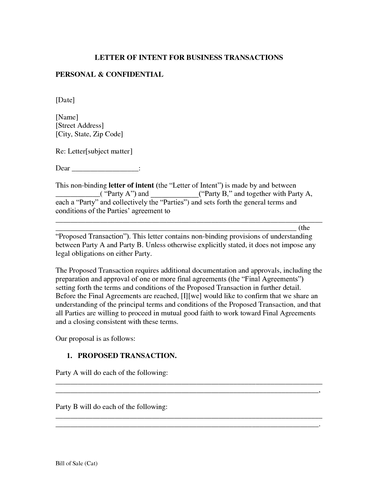 Letter Of Intent Business Template | Search Results | Easy Paleo ...    Letter  Letter Of Intent To Buy A Business Template