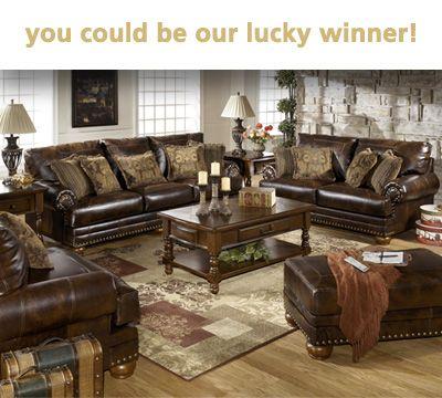 Win $1000 Worth of Ashley Furniture! | Pinterest
