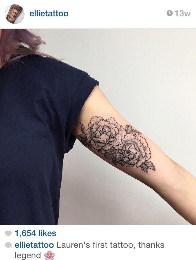 Flower Tattoos Bicep