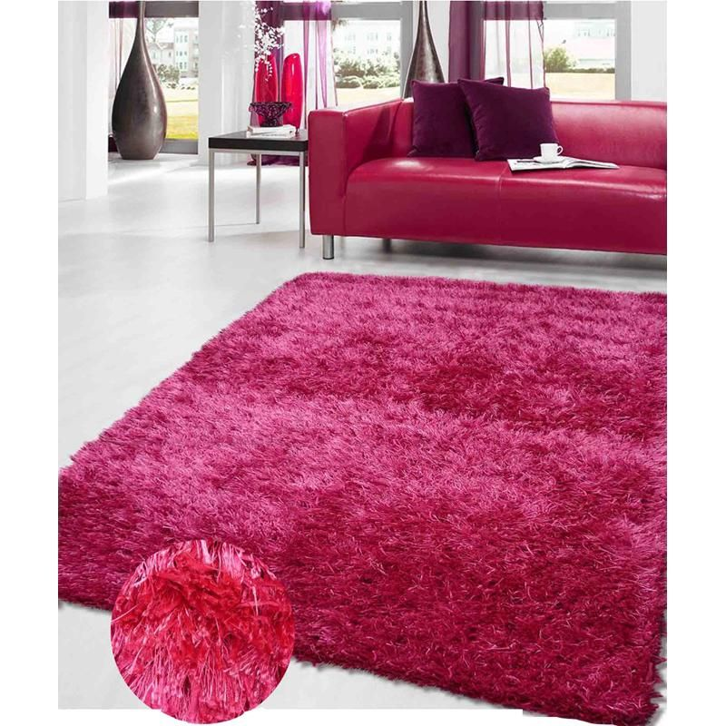 Nebula Magenta Hot Pink Shag Rug There Are Currently 15