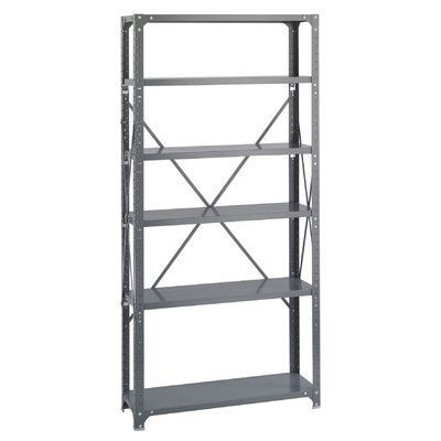 Safco Products Commercial Steel 6 Shelf Shelving Unit Steel Shelving Unit Steel Shelving Safco