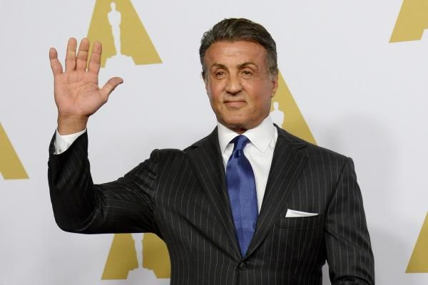 Sylvester Stallone per...