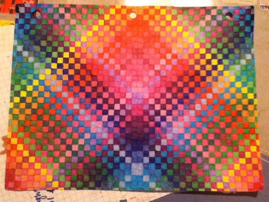 Colored Graph Paper Finished By AmbreLaRockdeviantart On DeviantArt