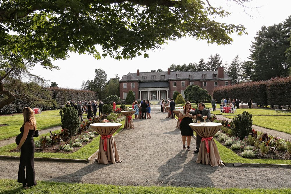 Tented Wedding In The Gardens At Elm Bank Wellesley Ma Southern New England Weddings Rich Geada Photography