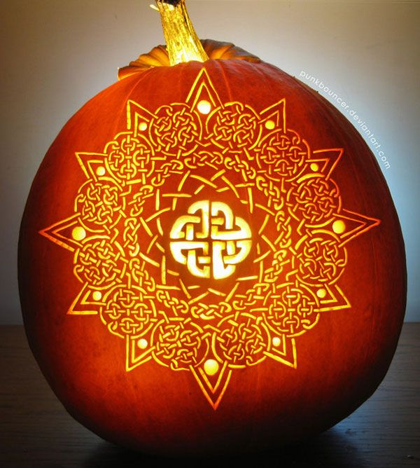 30 Best Cool Creative Scary Pumpkin Carving Designs Ideas 2017
