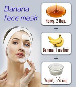 Easy recipes for facial masks