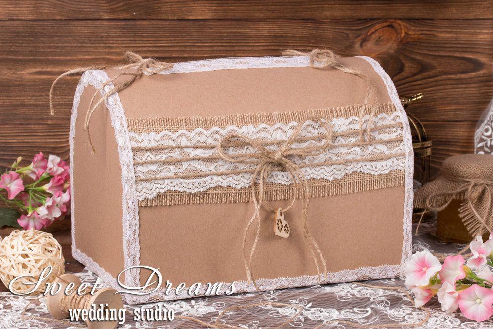 Rustic Card Box Wedding Card Box Rustic Wedding Card Box