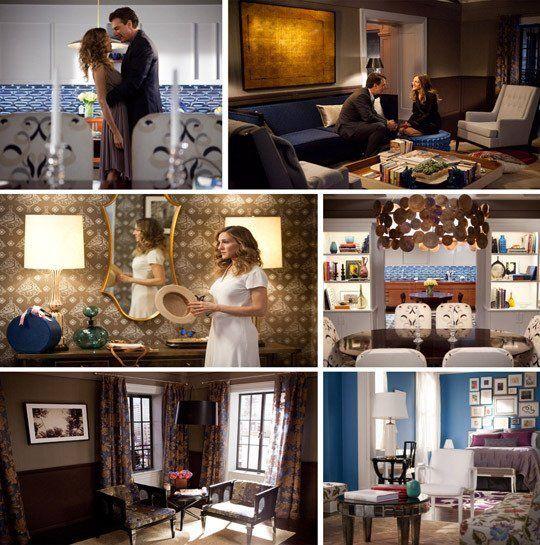 Cinema Style 20 Unforgettable American Movie Interiors Interior Carrie Bradshaw Apartment Decor