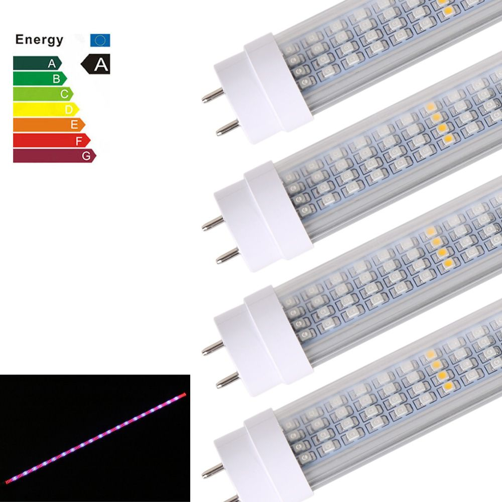 5x Full Spectrum Led Grow Light Bar 1 2m 60w 600smd 85 265v Indoor Hydroponics Flowers Veg Seed Medical Plant Light Strip Affiliate