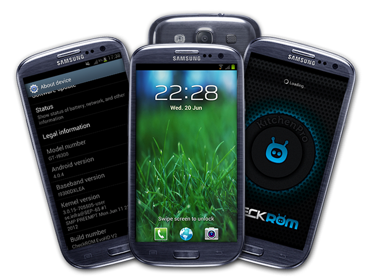 How To Update Samsung Galaxy S3 GT I9300 With CheckROM EvoHD™ V4 ROM
