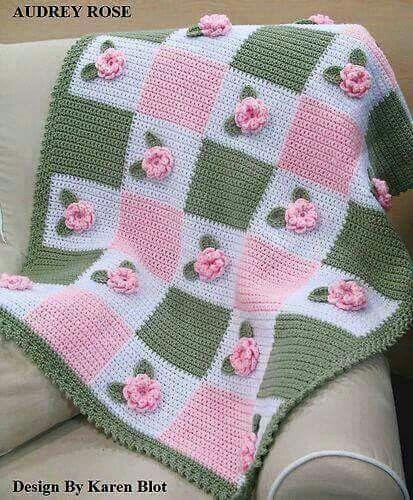 Pin von Martha Isabel Cortazar auf crochet | Pinterest | Decken ...