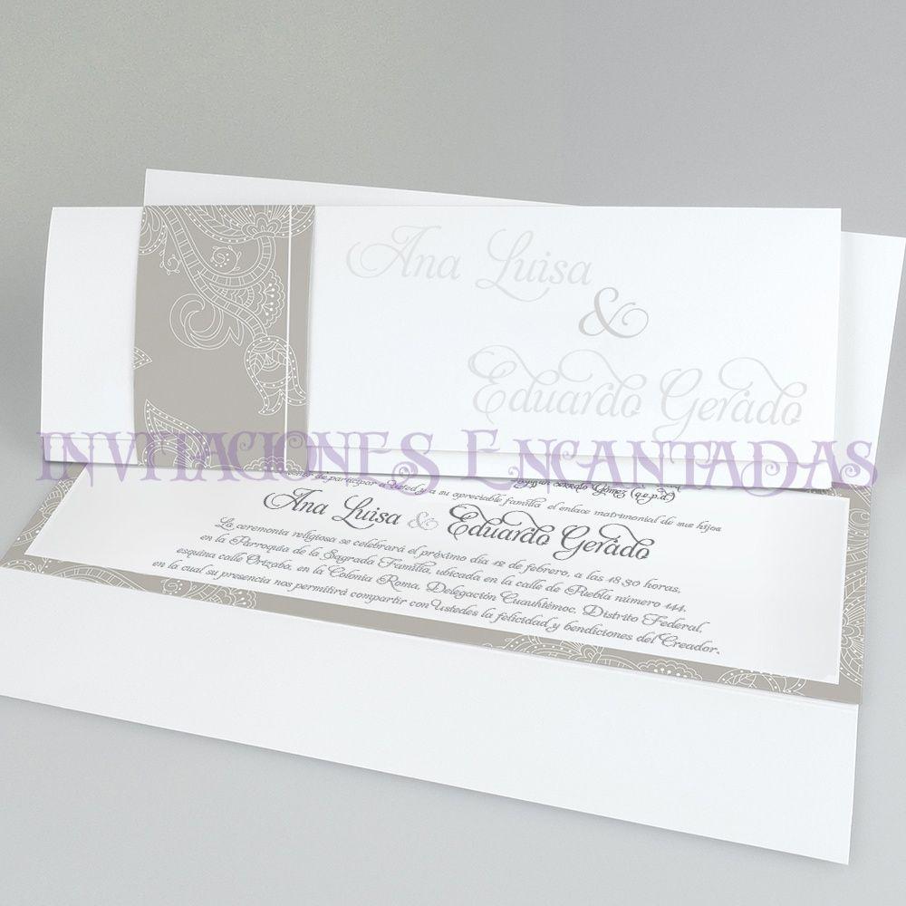 Invitaciones Boda Special 18