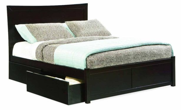amazing bed frame with drawers king bed headboard and frame ...