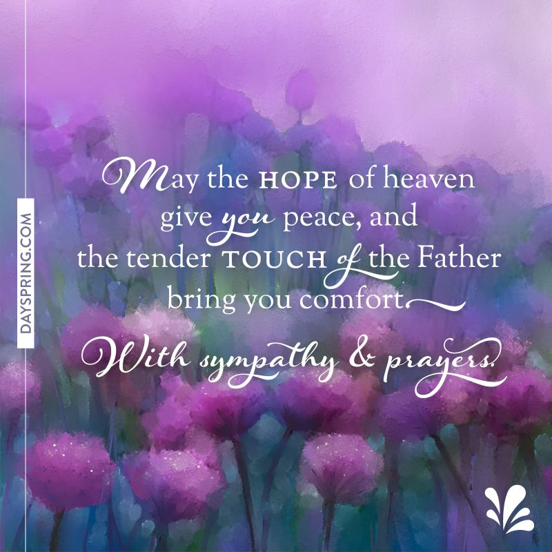 Prayer Quotes For Death In Family: Sympathy Messages