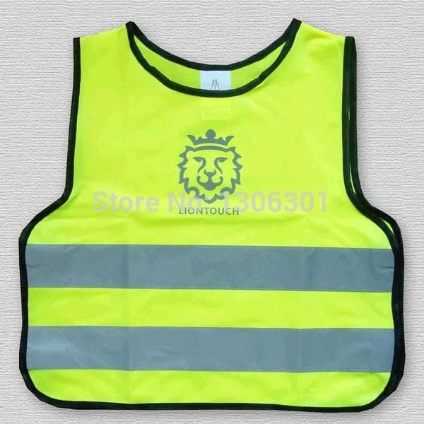 67dd26229 Children s reflective safety vest printable words and logo