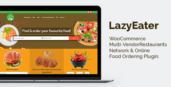 Download Free Lazy Eater Online Food Ordering System