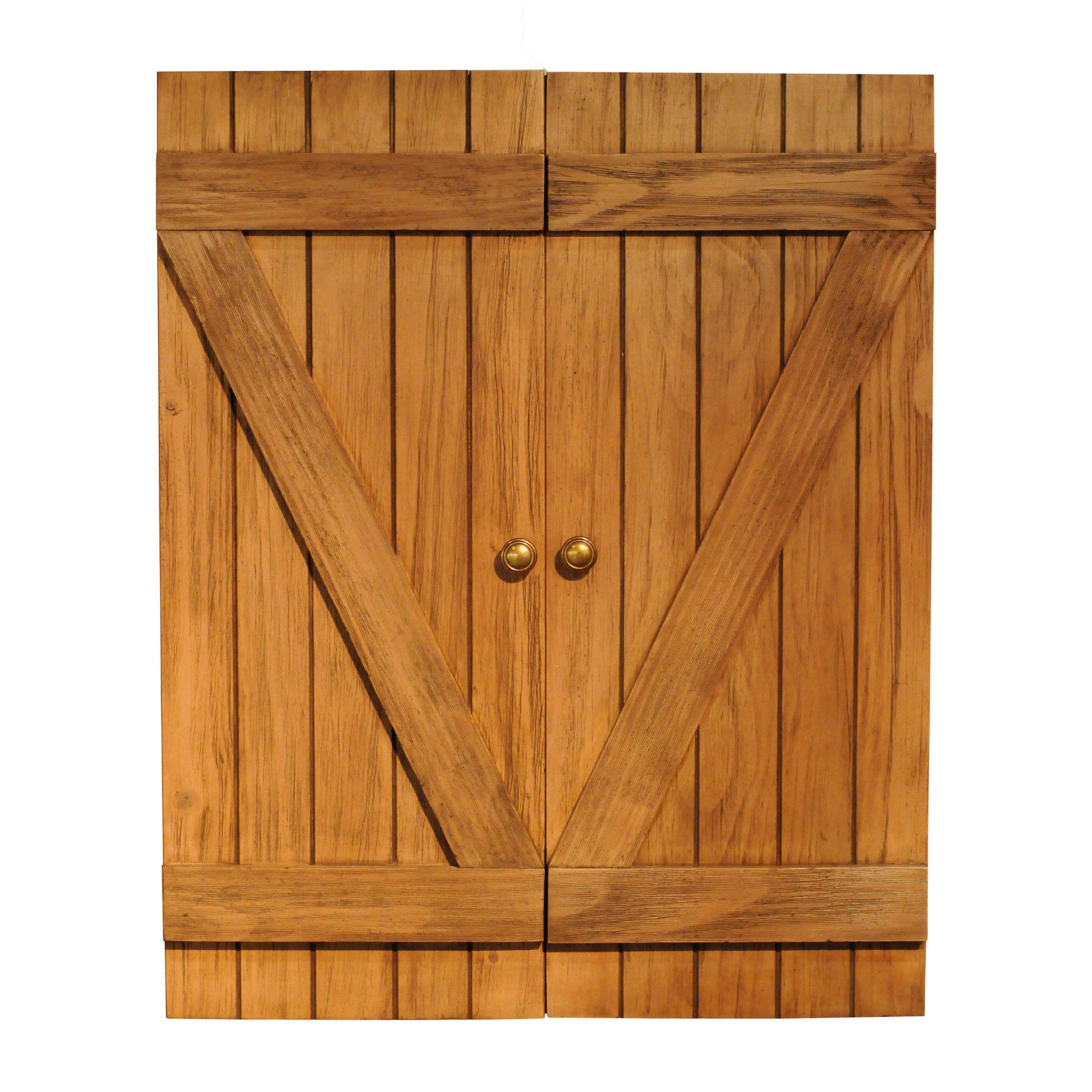 Rustic Dartboard Cabinet   Wooden Dartboard Cabinet - billiard ...