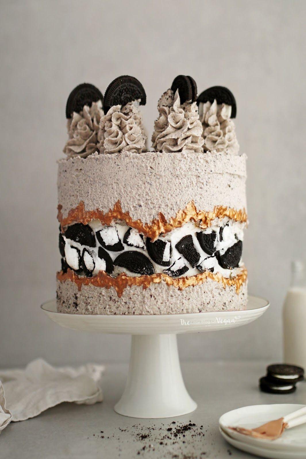 Oreo fault line cake recipe   Cake, Oreo cake, Cake recipes