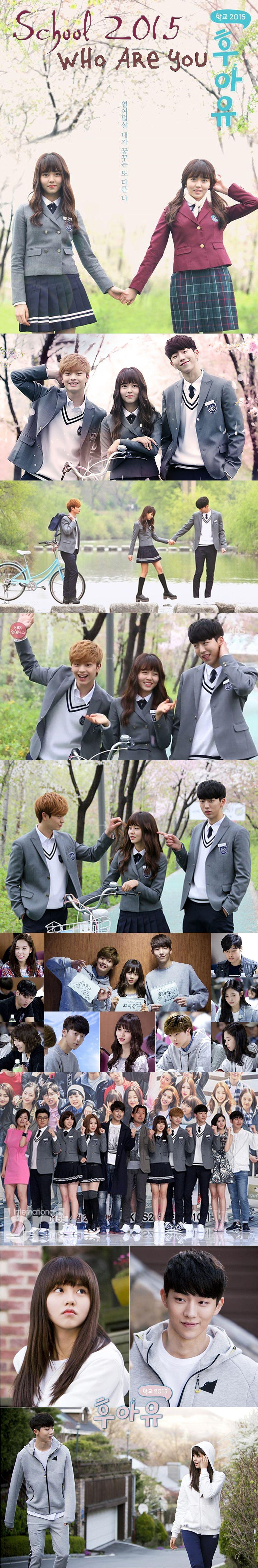 School 2015: Who are you (후아유- 학교 2015) Kdrama 2015 - 16 episodes - Kim So-Hyun / Nam Joo-Hyuk / Yook Sung-Jae / Lee Pil-Mo