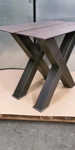 Metallbau Stelzer –EdelstahlTischfuß Tischgestell Tischkufen
