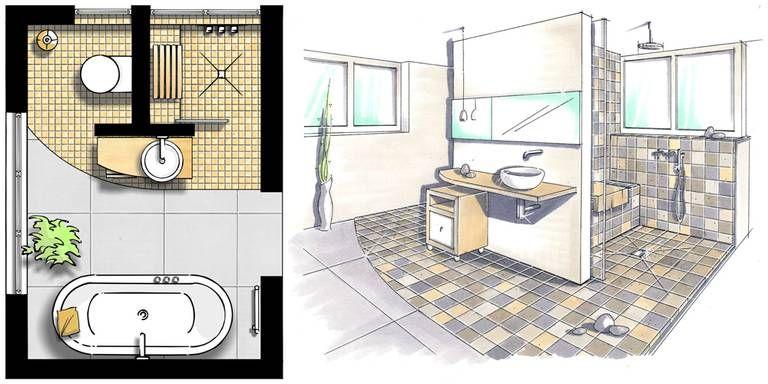 kleine b der gestalten tipps tricks f r 39 s kleine bad in 2018 wohnen pinterest badezimmer. Black Bedroom Furniture Sets. Home Design Ideas